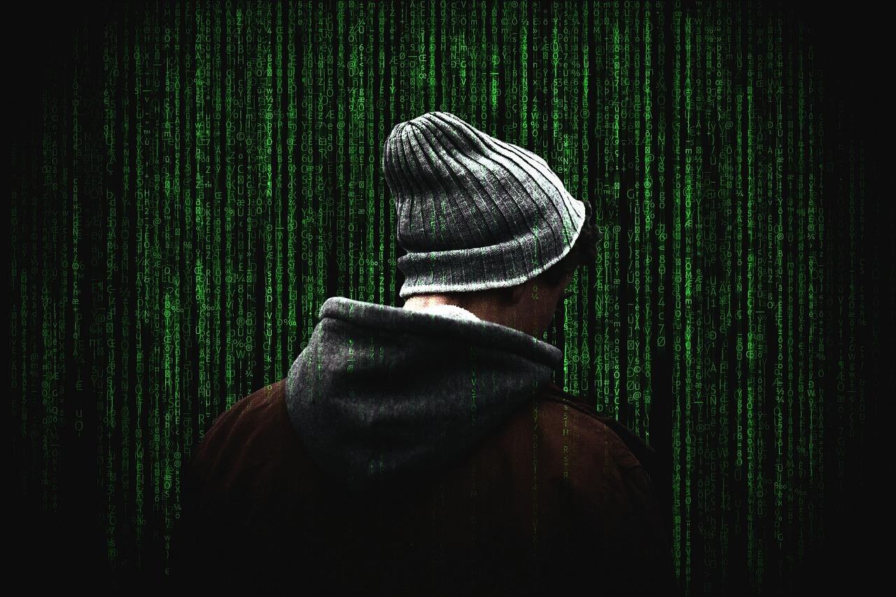 cybersecurity code hacker